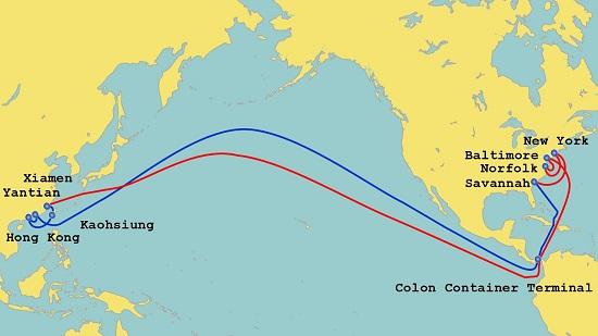中远海运特运—山东省港口集体北极航线告成首航